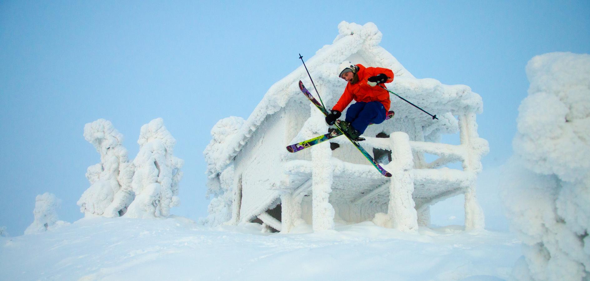 Mäenlasku on talviurheilulaji